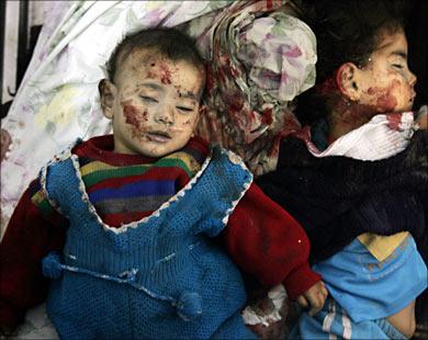 palestinian_children_killed_by_israeli_fire_in_gaza__file_2007