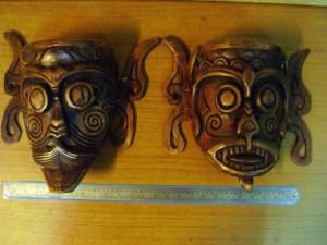 Topeng Kayu Suku Dayak Kenyah