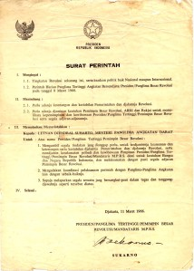 Surat Perintah 11 Maret