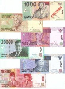 Uang dalam berbagai pecahan