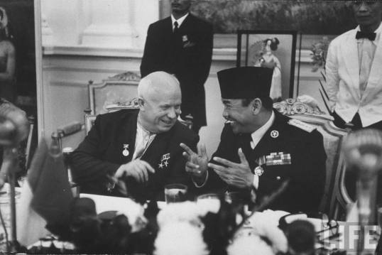 Bung Karno dan Nikita Krushchov