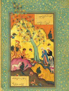 Kisah Qais yang menjadi gila (majnun) karena kerinduannya pada Layla